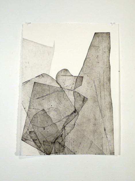 Batholith Etchings by Eben Goff