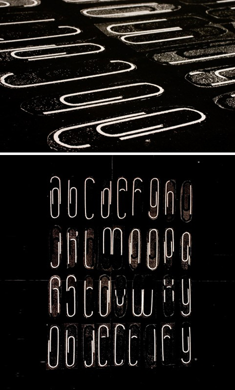 Objectify typeface by Teo Menna