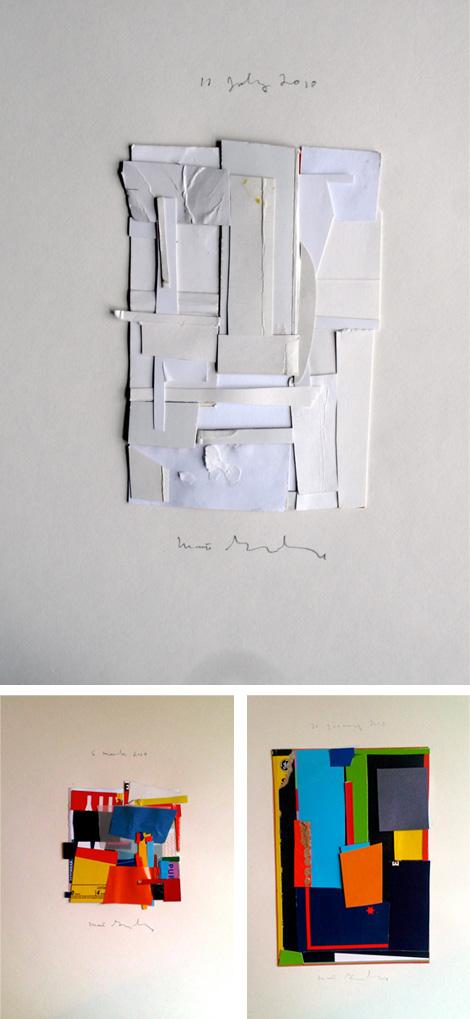 Collages by Matt Gonzalez