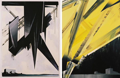 Hard to Categorize Paintings by Phil Ashcroft
