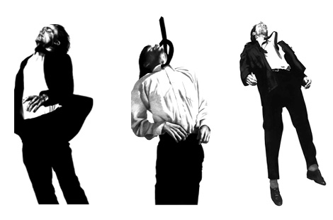 Men In The Cities series by Robert Longo, 1979