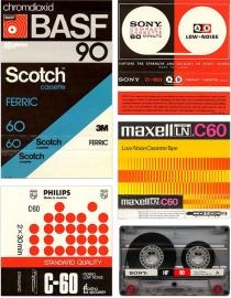Vintage Cassette Tape Design