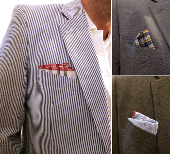 Handkerchief Pocket Square photo b